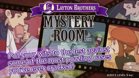 Layton Brothers: Mystery Room arriva su iOS