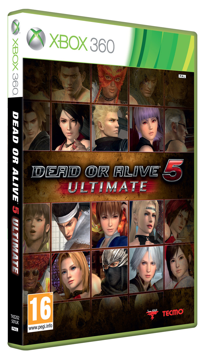 Dead Or Alive 5 Ultimate Cover Xbox 360 - Viewing Gallery