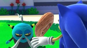 """""""Dai la cera, togli la cera. E non dimenticare respiro, Sonic-san."""""""