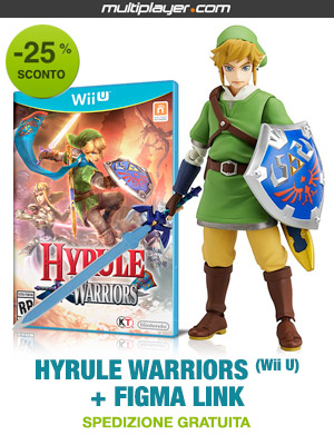 Hyrule Warriors e FIGMA Link in bundle