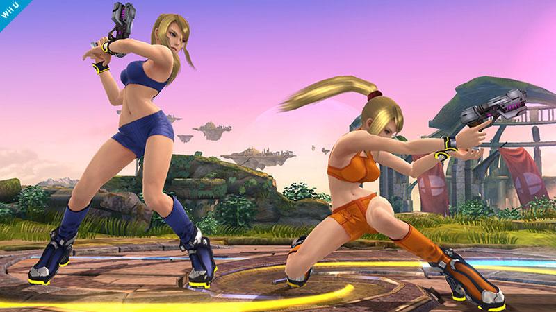 ¿Tus personajes a escoger para el Super Smash Bros. 3DS/Wii U? Super-smash-bros-wii-u-samus-costumi-alternativi