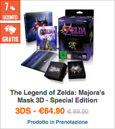 Prenota The Legend of Zelda: Majora's Mask 3D