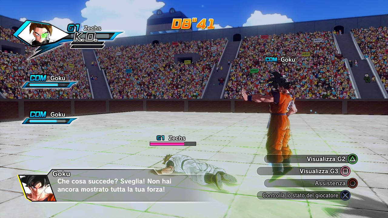 """Eddai Goku, ancora cinque minuti..."""