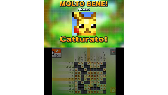 Pokemon picross 02 01 guide images pokemon images for Mural 01 pokemon picross