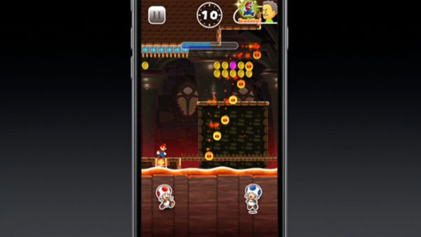 Apple e Nintendo annunciano Super Mario Run per iOS