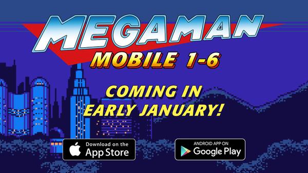I primi sei Mega Man arriveranno a gennaio su iOS ed Android