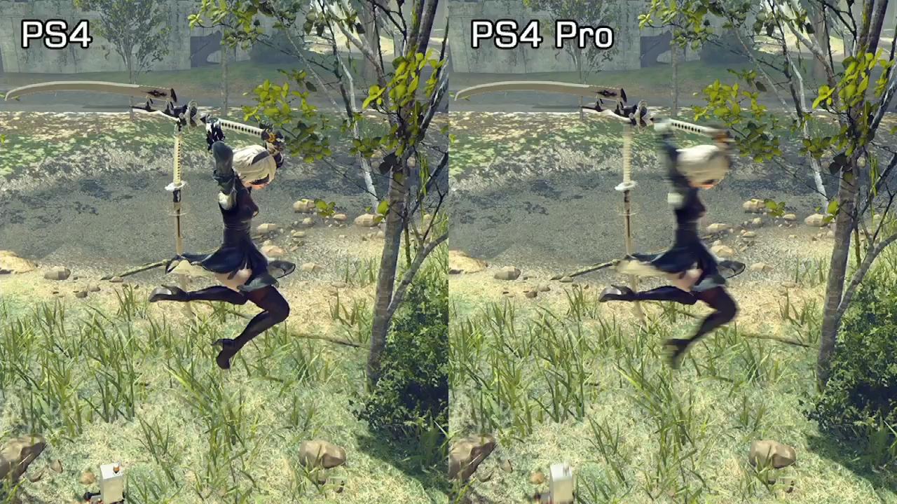 Nier Automata: quali sono le differenze tra Ps4 e Ps4 Pro?