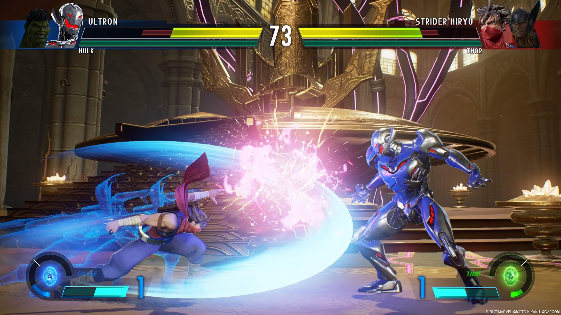 Marvel vs. Capcom Infinite: un nuovo gameplay di cinque minuti