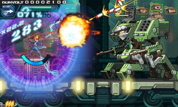 Inti Creates annuncia Azure Striker Gunvolt: Striker Pack per Switch