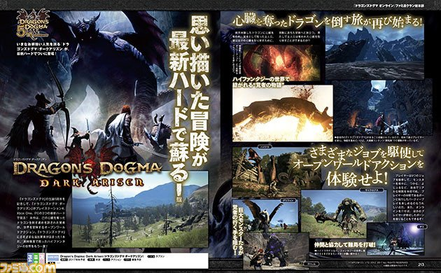 Dragon's Dogma Dark Arisen arriverà su PS4 e Xbox One