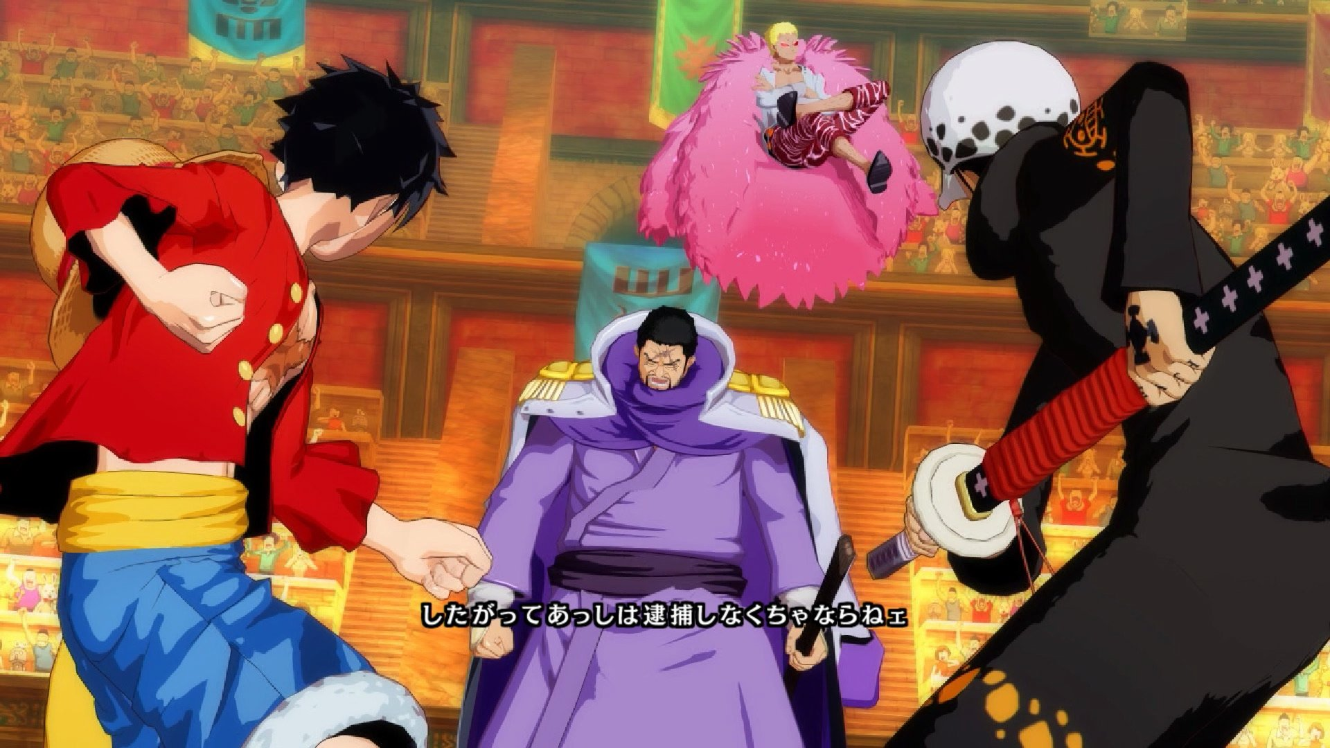 One Piece: Unlimited World RED Deluxe Edition, trailer di esordio