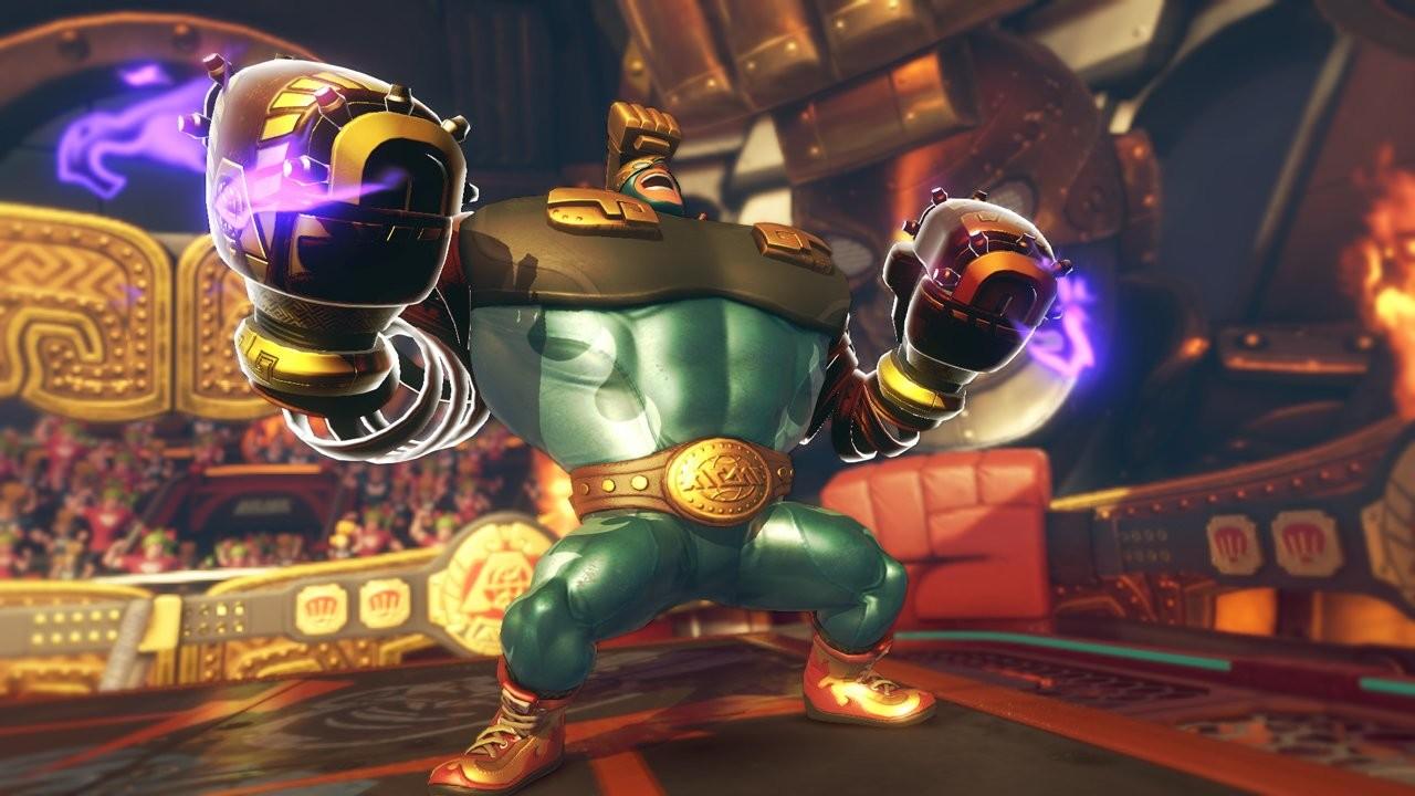 ARMS riceverà un nuovo combattente gratuito a luglio, si chiamerà Max Brass