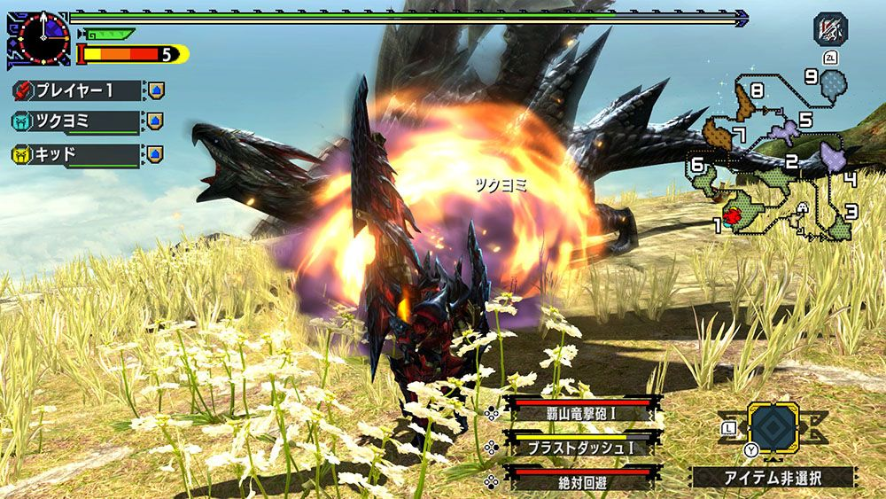 Monster Hunter XX girerà a 30 FPS su Switch