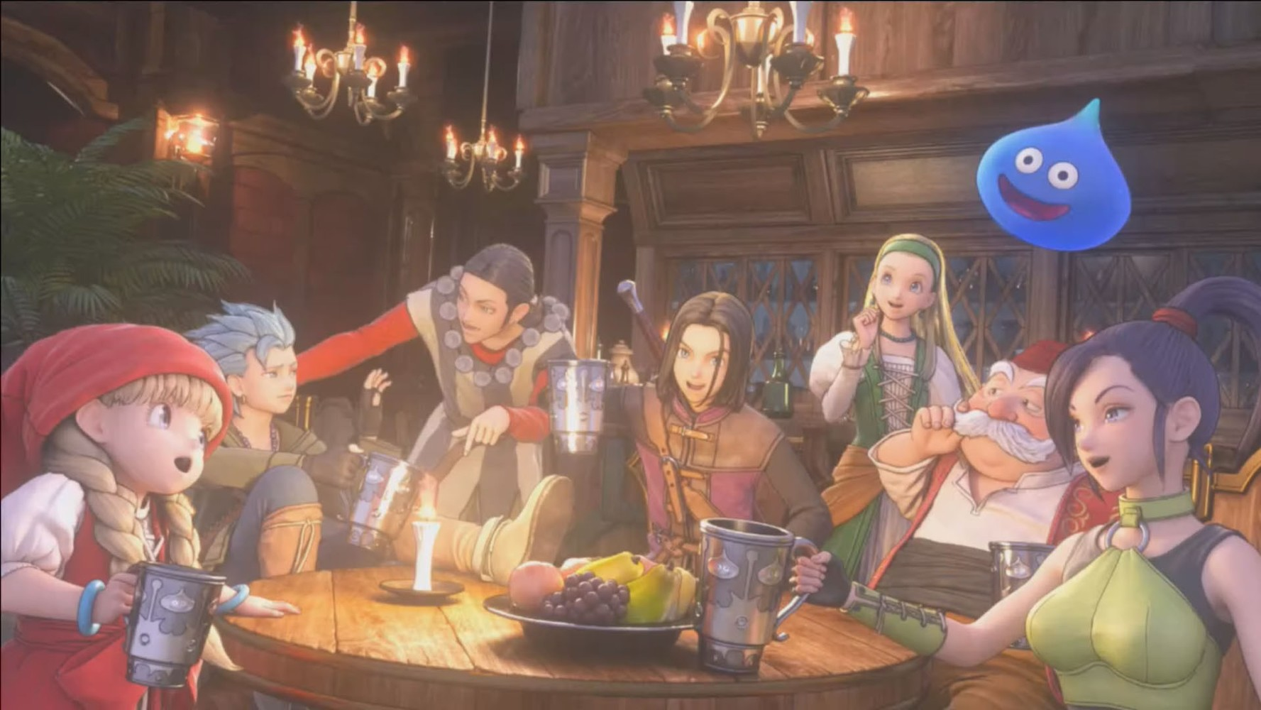 Dragon Quest XI si mostra in 45 minuti di video gameplay