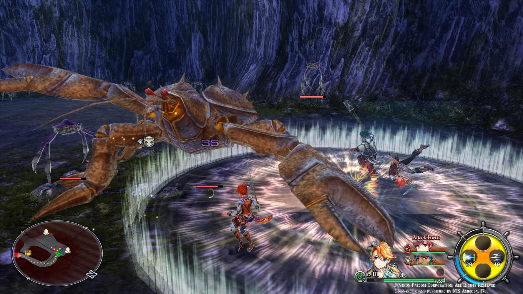 La demo di Ys VIII: Lacrimosa of DANA è disponibile su PS4