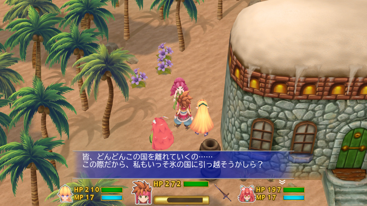 Secret of Mana, il remake si mostra in un video di gameplay