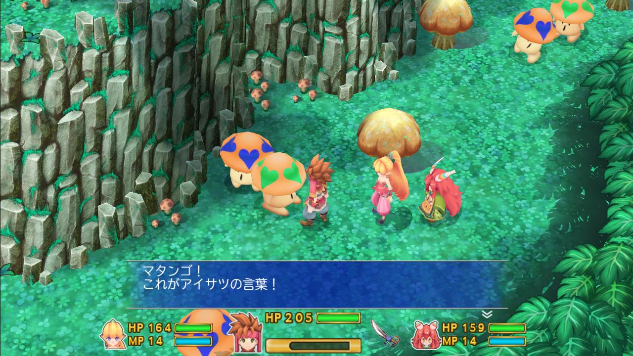 Secret of Mana, il remake si mostra in un video di gameplay