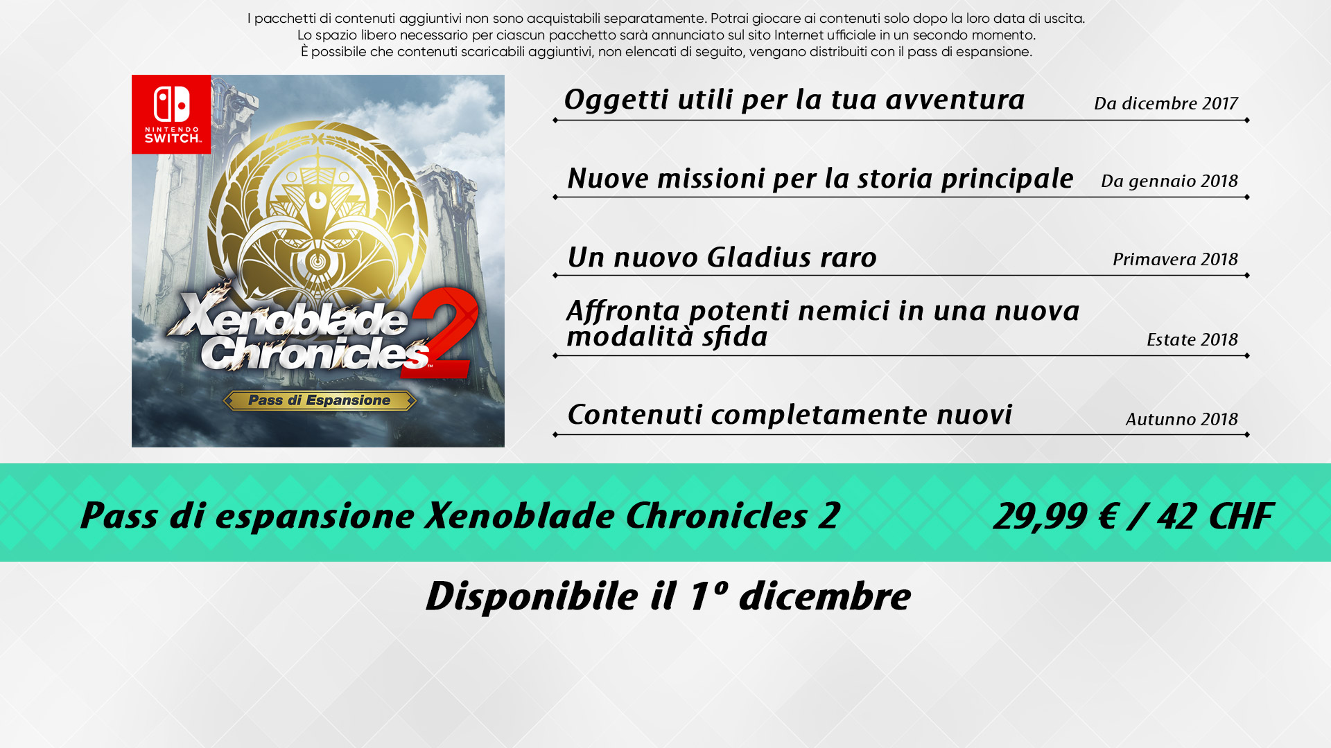 Nintendo Direct di Xenoblade Chronicles 2, tutte le informazioni
