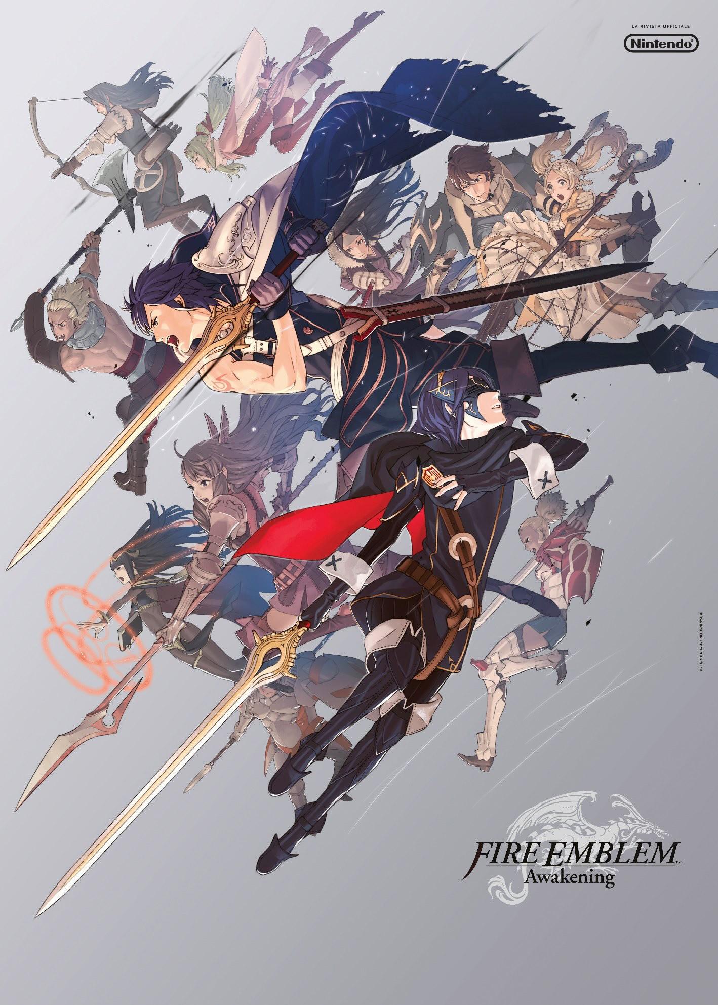nintendo-rivista-ufficiale-poster-fire-emblem-awakening