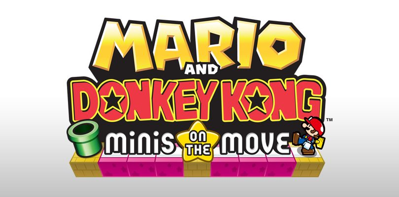 mario and donkey kong minis on the move