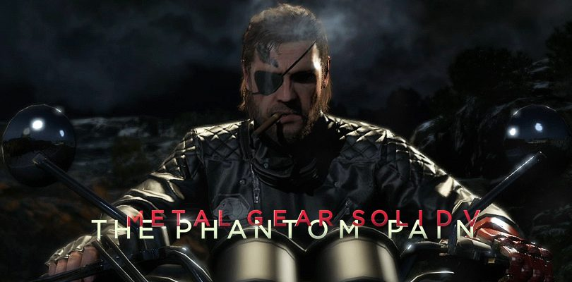 metal gear solid v the phantom pain intervista hideo kojima