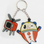 persona 4 arena limited edition keychain
