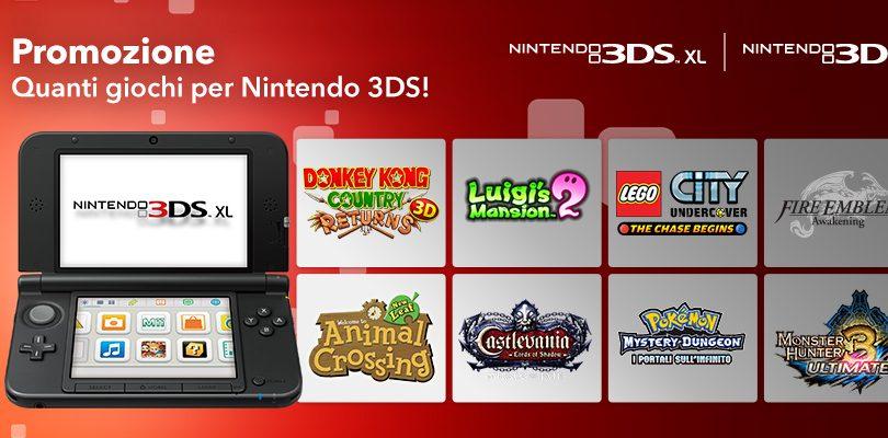 promozione quanti giochi per nintendo 3ds