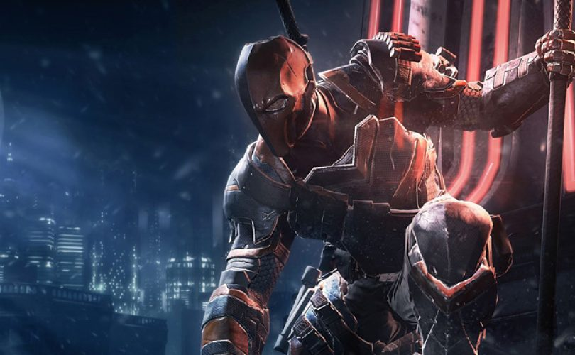 batman arkham origins deathstroke cover