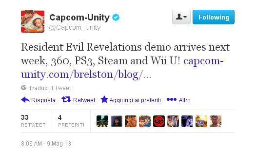 capcom-tweet-resident-evil-revelations-demo
