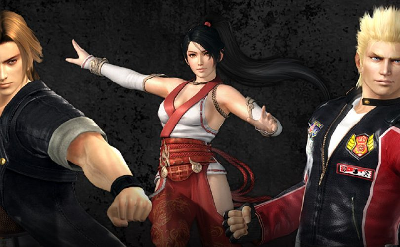 dead or alive 5 ultimate character cover