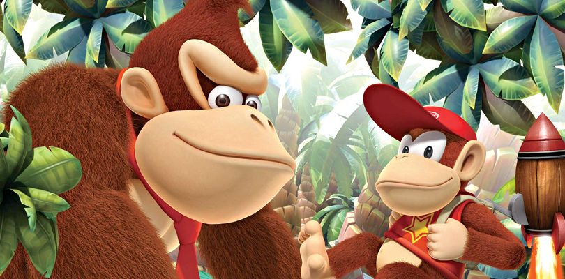donkey kong country returns 3D spot cover