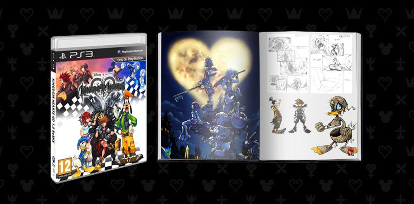 kingdom hearts 1 5 remix artbook