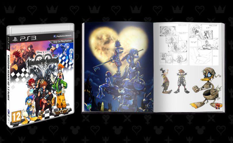 kingdom hearts 1 5 remix artbook