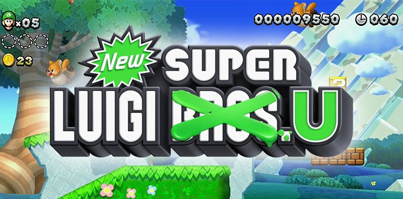 new super luigi u cover
