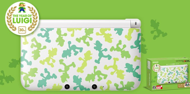 nintendo 3ds xl year of luigi