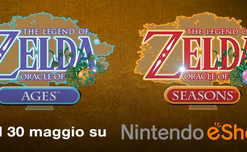 zelda oracle of age oracle of season nintendo 3DS eshop