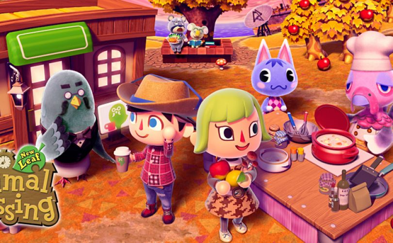 animal crossing new leaf anteprima cover