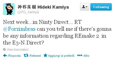 hideki-kamiya-tweet-resident-evil-2