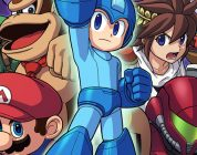 Sakurai mostra le varianti di Mega Man in Super Smash Bros.