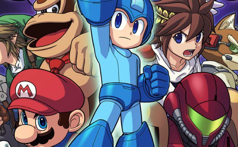 Sakurai mostra le varianti di Mega Man in Super Smash Bros.