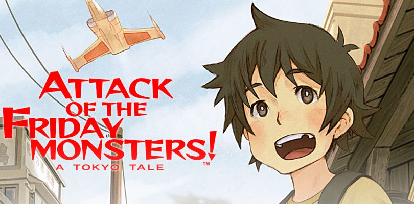 attack of the friday monsters cover
