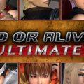 dead or alive 5 ultimate packshot cover