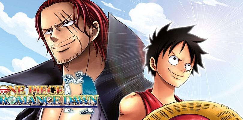 one piece romance dawn 3ds cover