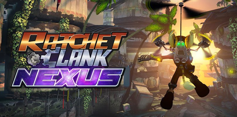 ratchet e clank nexus cover
