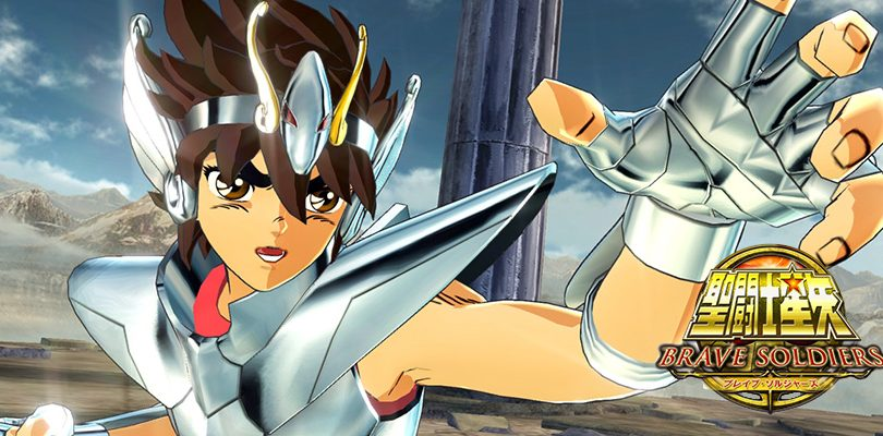 saint seiya brave soldiers ps3 cover