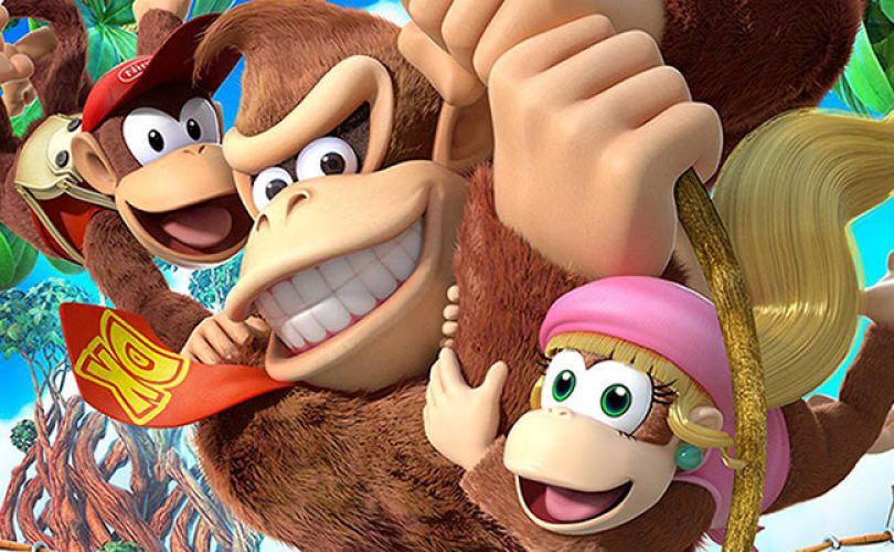 donkey kong country tropical freeze cover