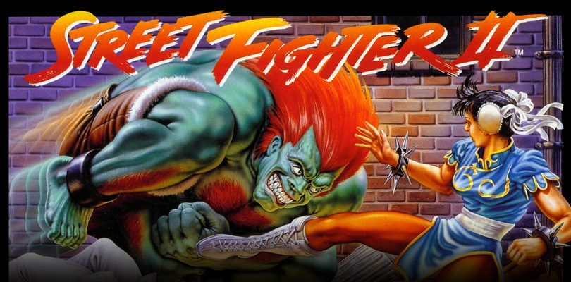 street fighter ii snes cover