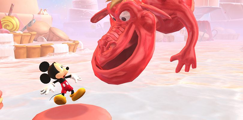 castle of illusion starring mickey mouse cover
