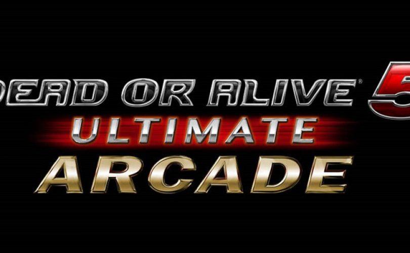 dead or alive 5 ultimate arcade