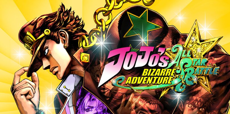 jojos bizarre adventure all star battle cover